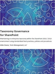 Taxonomy Governance Cover